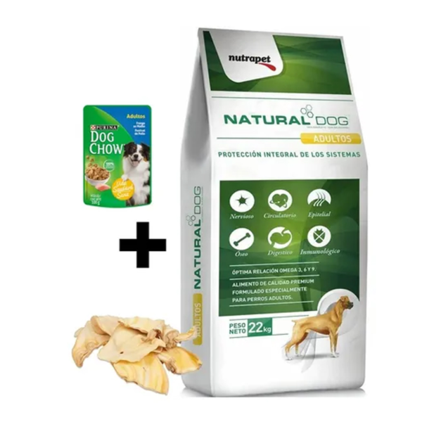 Natural Dog Adulto + Snacks