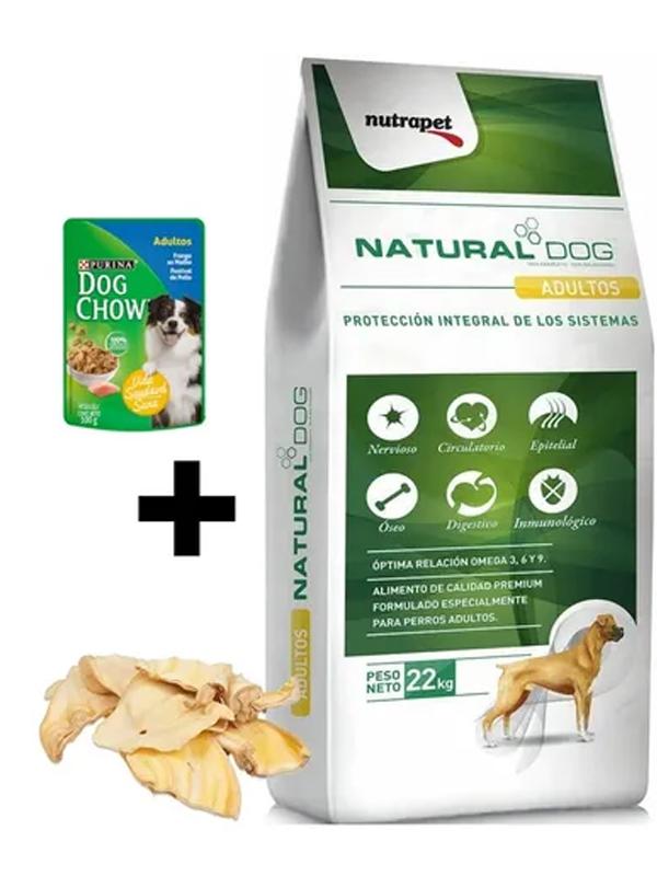 Natural Dog Adulto + Snacks